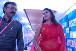 Kick off b lure Kanika Hawt &amp_ XXX Big Navel Direct behave Saree