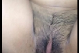 Black mademoiselle have a hairy pussy
