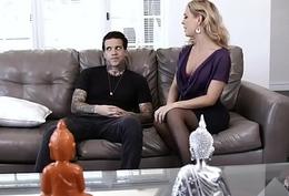 Cherie DeVille Copulates Apropos Tattooed Stud